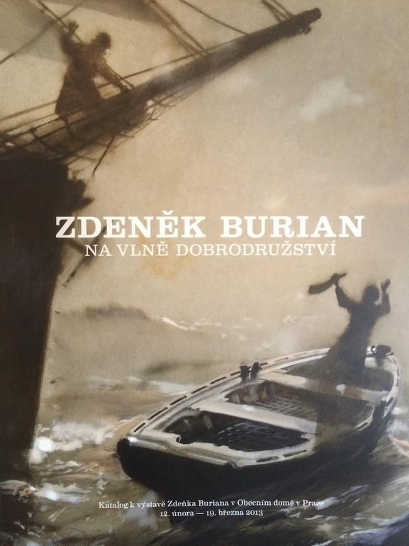 publikace, Zdeněk Burian, Na vlně dobrodružství, Jakub Sluka, Retro Gallery,