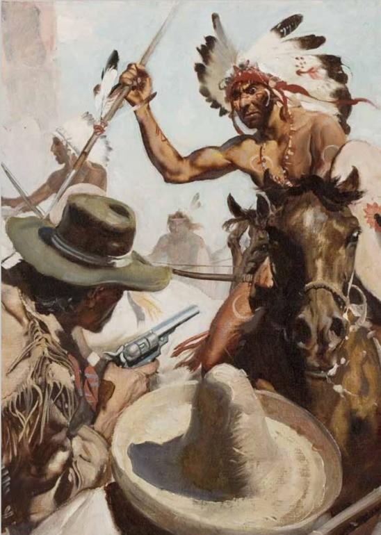 Lovci skalpů, T. Mayne-Ried