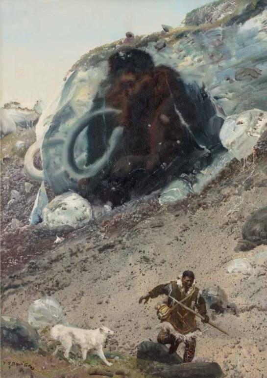 Mastodont, Velké otazníky, L. Souček