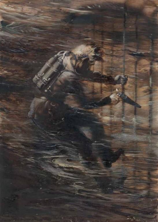 Potapěč, Ocelové město, J. Verne