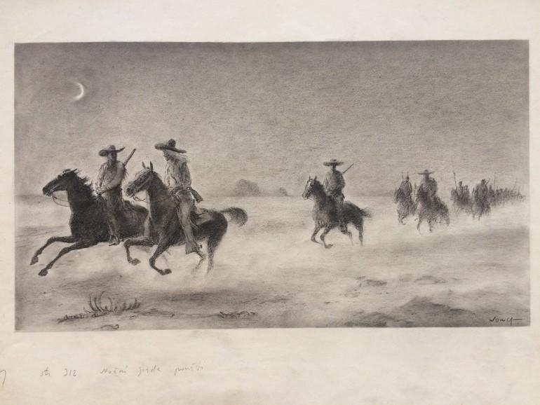 jiří wowk, ilustrace, Old Surehand, Karel May